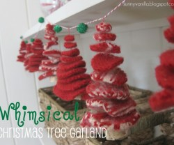 whimsical tree garland