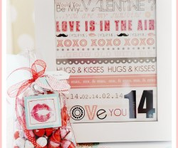 Valentine ♥ Kisses Gift Idea (tutorial)!!