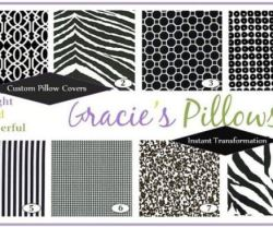 gracie's pillows collage