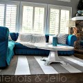 striped nautical rug