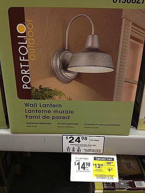 Add DIY Switches to Outdoor Sconces to make Indoor Bedside Lights!