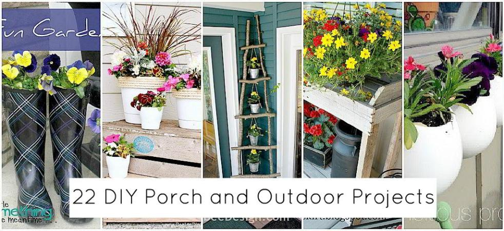 22 DIY Porch And Outdoor Projects To Make Dont Poke