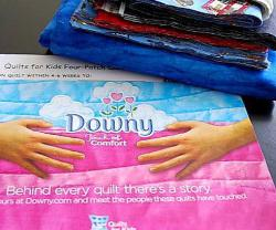 downy quilt kit