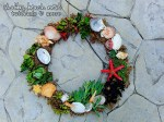 "Make a ""Beachy"" Succulent Wreath for Less Than $20!! (tutorial)"