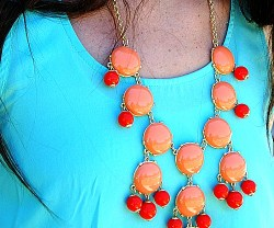 coral necklace giveaway