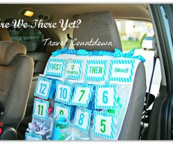 Summer Road Trip Countdown Game and Free Printables!!