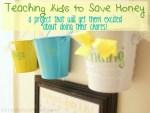 Teaching Kids to Save Money: DIY Chore Chart Idea!
