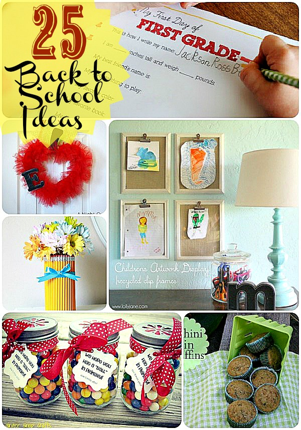 School lunch week 2012 decoration ideas just b cause for Back to school decoration ideas