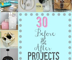 Great Ideas — 30 Before and After DIY Projects