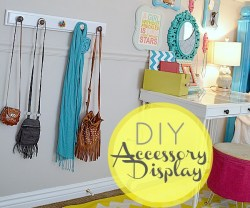 Tatertots & Jello - DIY Accessory Display