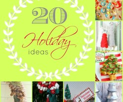 20 holiday ideas