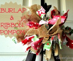 burlap-and-fabric-pompom-cleverlyinspired-1_thumb