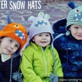 monster snow hats