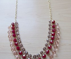valentine drop necklace