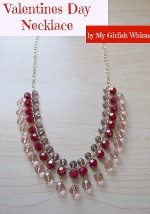 Valentine's Day Drop Necklace Tutorial!