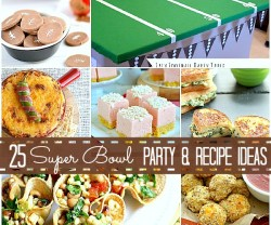 25 super bowl game day recipes and party ideas