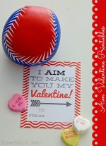 "Valentine's Day Printable: ""Aim"" Valentines!"