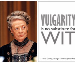 Downton Abbey Season 3: Free Dowager Quotes, Bunting Printables and Party Ideas!