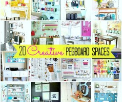 20 pegboard projects