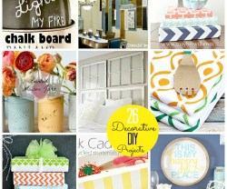 26 Decorative DIY projects at Tatertots and Jello