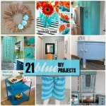 Great Ideas — 21 Blue DIY Projects!!