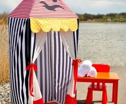 pvc summer cabana