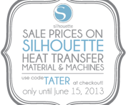 Happy Summer – Silhouette Portrait Giveaway and Heat Transfer Deals ($269 value)!
