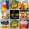 20 candy corn colored projects to make for Fall! #candycorn #Fall #Recipes #Decorating