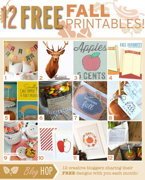 fall printable club
