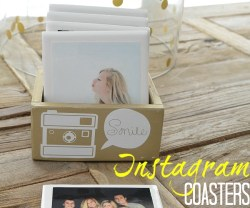 instagram coaster and wood box gift idea at tatertots and jello