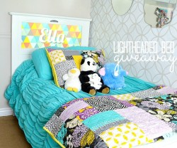 Win a Kids Lightheaded Bed with an Illuminated Headboard! ($600 value)