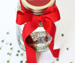 Happy Holidays: Merry Minestrone Christmas Soup in a Jar