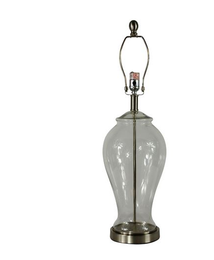 lowes clear lamp base