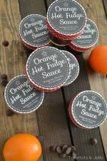 Orange Hot Fudge Sauce: Neighbor Gift Idea