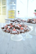 Christmas Chocolate Peppermint Kiss Cookies and 4th Annual Cookie Exchange!