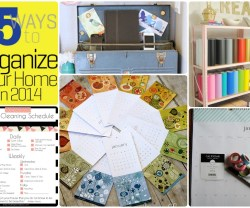 Great Ideas — 15 Ideas to Organize Your Home in 2014!
