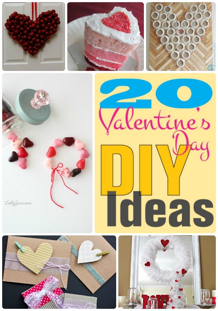 20 diy valentines ideas collage