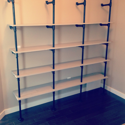 eco industrial shelves