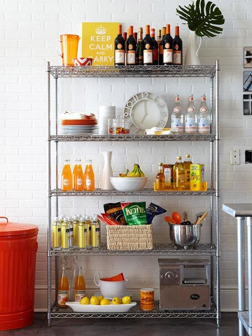Open Kitchen Storage: 2014 Home Decor Trends: Open Shelving