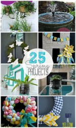 25 Spring DIY Projects to make!!