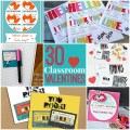 30 classroom valentines