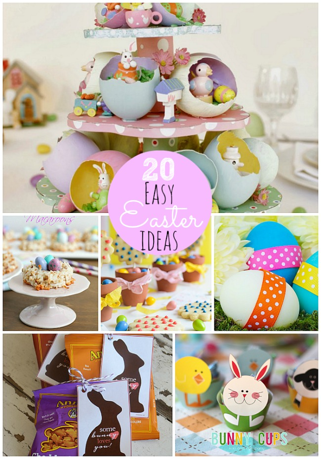 20 Easy Easter DIy Home Ideas