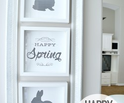 Free Happy Spring/Easter Printables !