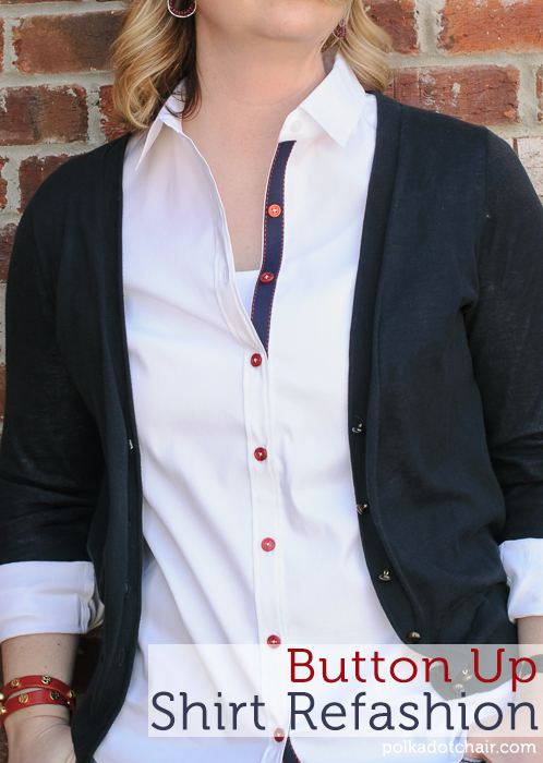 button-up-shirt-refashion-project