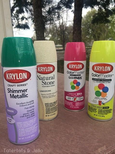 krylon paint challenge