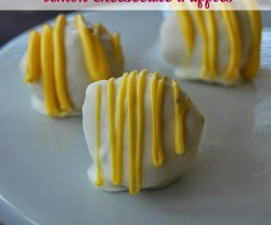 Three Ingredient Lemon Cheesecake Truffles!!