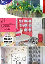 Great Ideas — 24 Summertime Home DIY Projects!