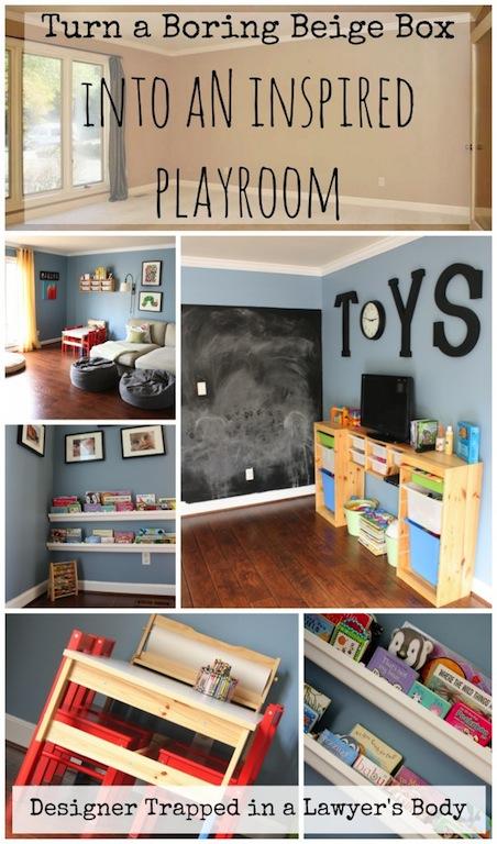 Playroom Design by Designer Trapped
