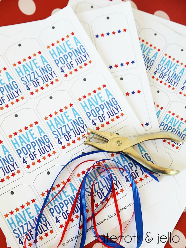 2free printable fourth of july tags