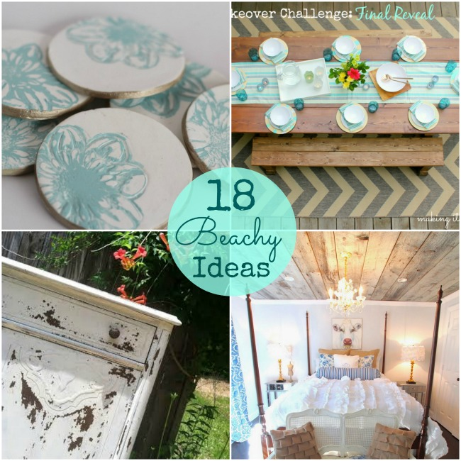18 summertime beachy ideas